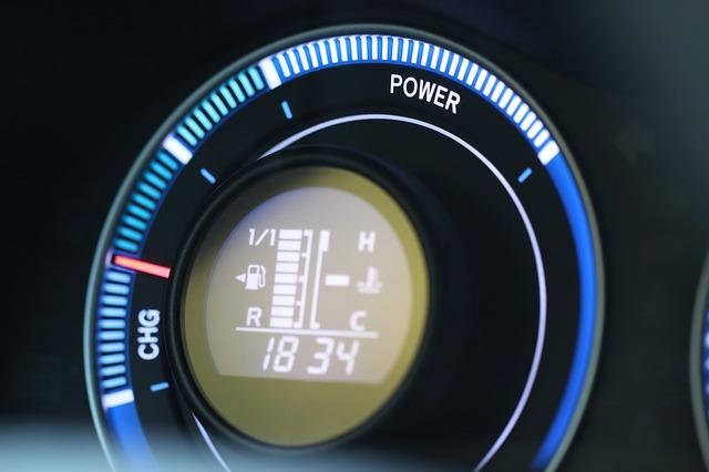 hibrid autó műszaki vizsga műszerfal